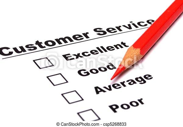 customer survey - csp5268833