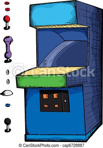 Customizable Arcade Game - csp6728887