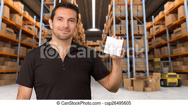 Customizable Message at distribution warehouse - csp26495605
