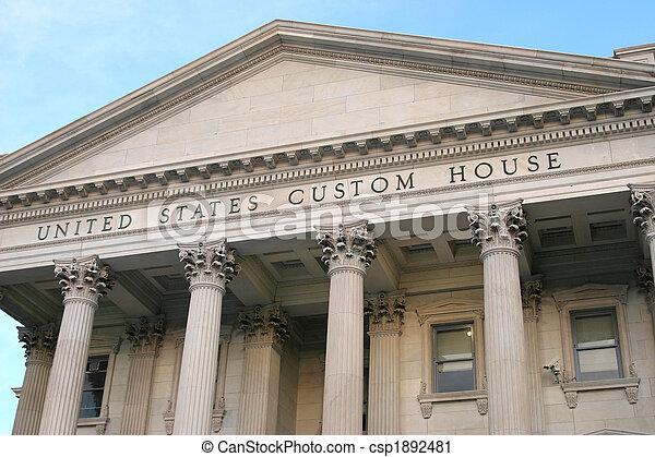 customs house - csp1892481