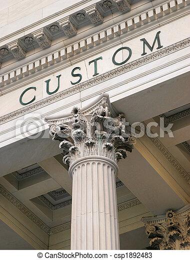 customs house - csp1892483