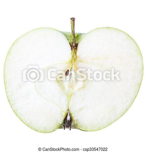 cut apple - csp33547022
