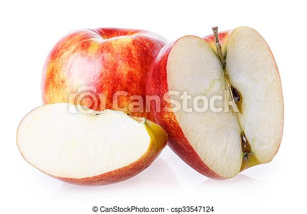 cut apple - csp33547124