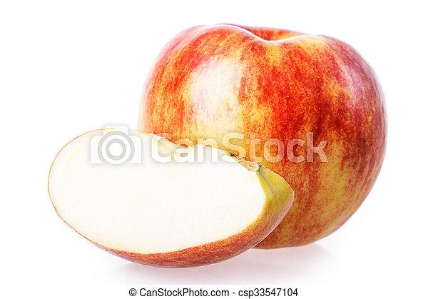 cut apple - csp33547104