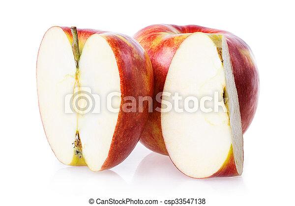 cut apple - csp33547138