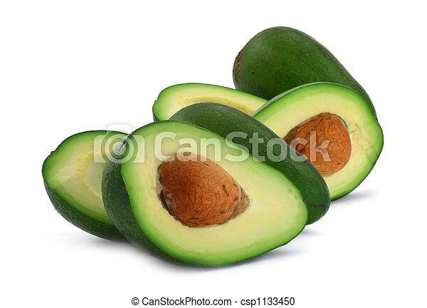 cut avocado - csp1133450