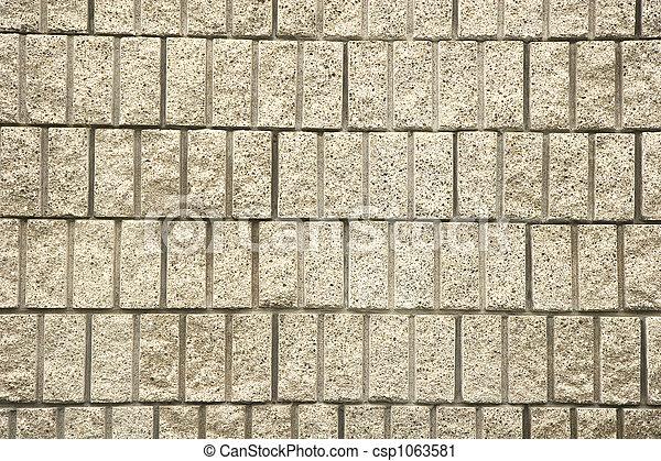 Cut Block Wall - csp1063581