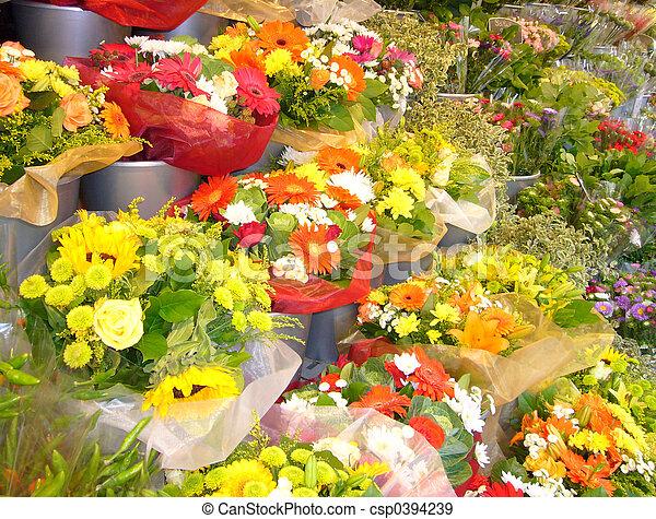 Cut Flowers - csp0394239