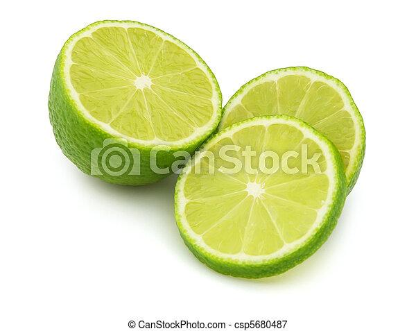 Cut lime - csp5680487
