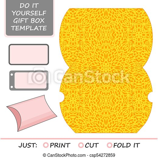 Cut out box template for birthday gift clipart vector search cut out box template for birthday gift csp54272859 solutioingenieria Choice Image