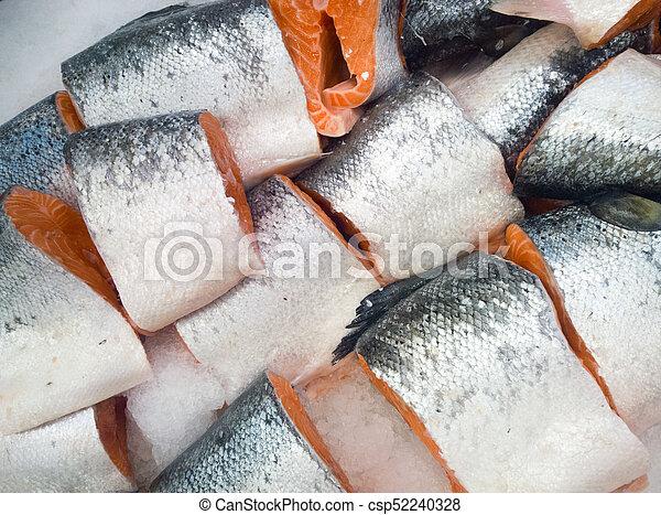 cut salmon - csp52240328
