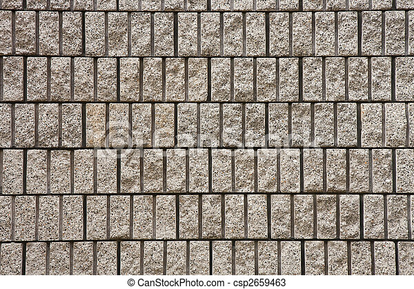 Cut Stone Block Mason Wall - csp2659463