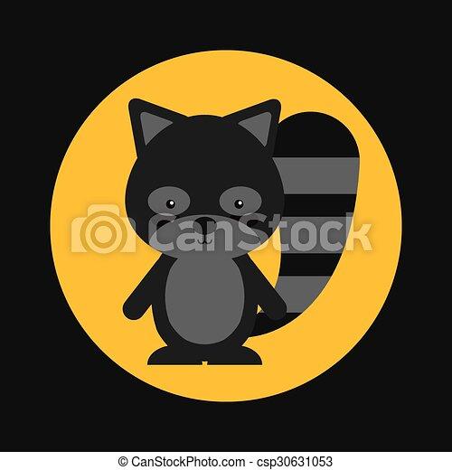 cute animal fall  - csp30631053