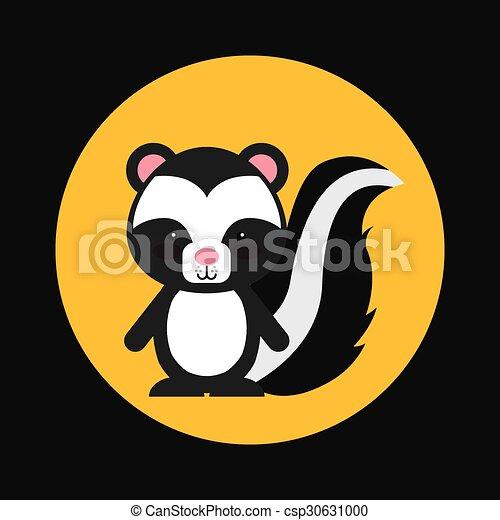 cute animal fall  - csp30631000