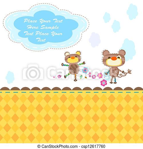 cute animals - csp12617760