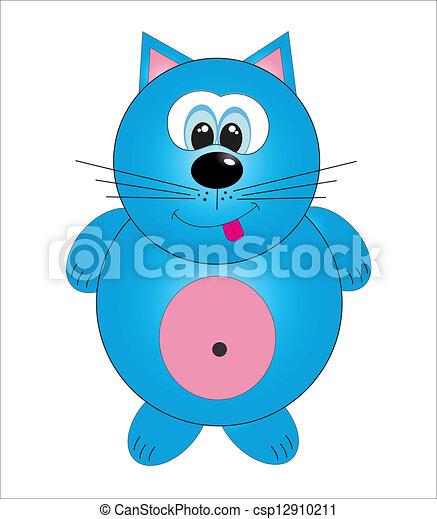 Cute animals. vector illustration - csp12910211