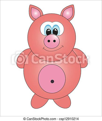 Cute animals. vector illustration - csp12910214