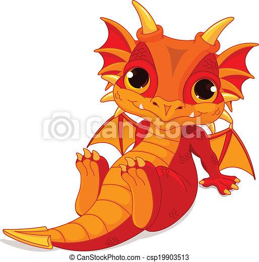 cute baby dragon cute cartoon baby dragon