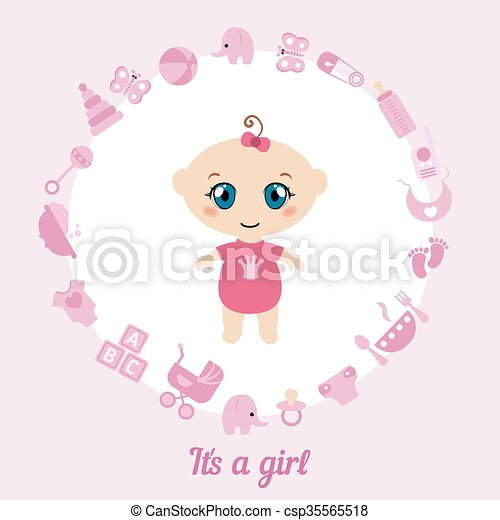 card for baby girl
