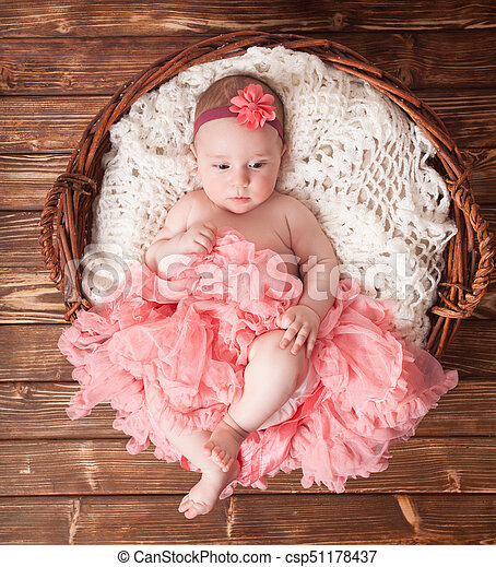 Cute Baby Girl Adorable Baby Girl In Pink Tutu Lying In The Basket Newborn Photography Canstock The best gifs are on giphy. https www canstockphoto com cute baby girl 51178437 html