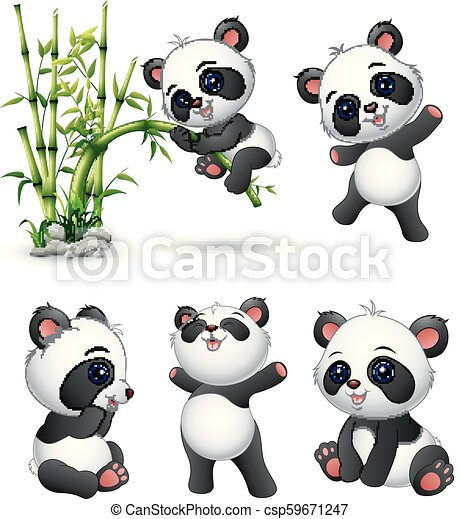 20 Latest Cartoon Baby Panda Cute Drawing Pictures