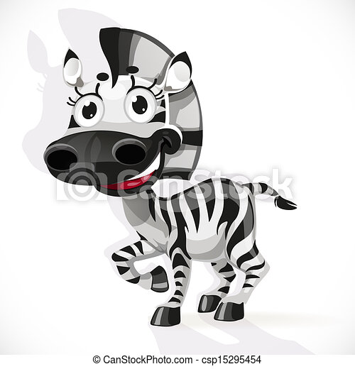 Cute baby zebra - csp15295454