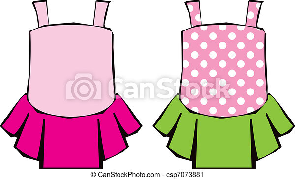 cute ballet dress icons vector clip art of two pretty vector rh canstockphoto com get dresses clipart clipart dresses free