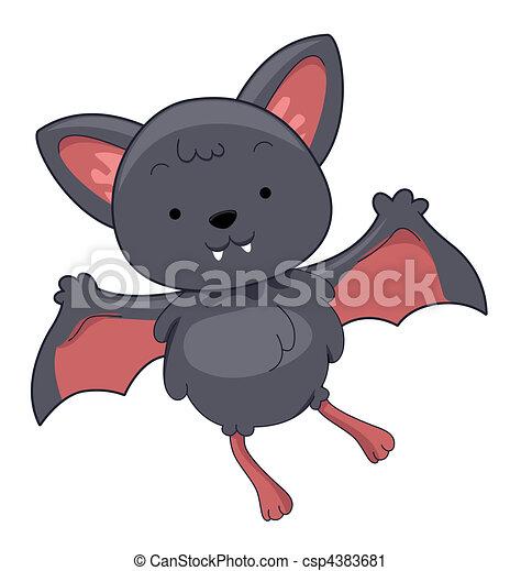 Cute Bats Clipart