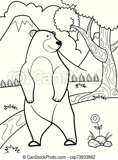 WILD ANIMAL coloring pages - 129 all the Wild ANIMALS of the world ... | 470x347