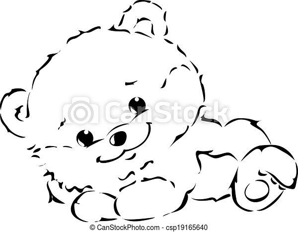 cute Bear - csp19165640