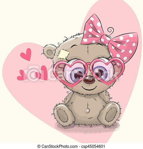 Cute Bear Girl