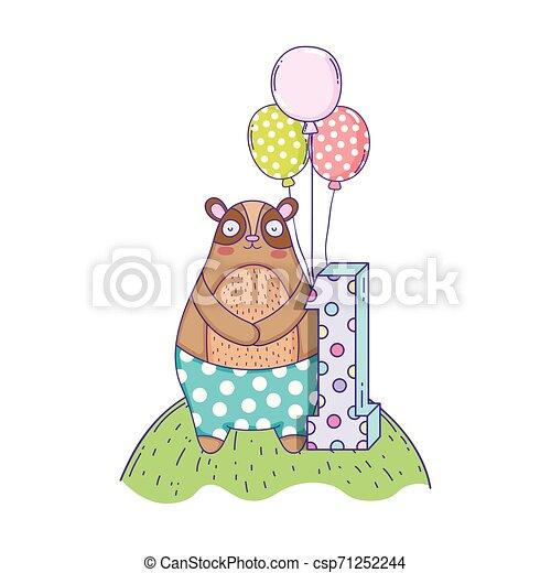 Round Foil Helium Balloon Gift Arch Happy Birthday Balloons Card - Cinco De  Mayo Party Clip Art