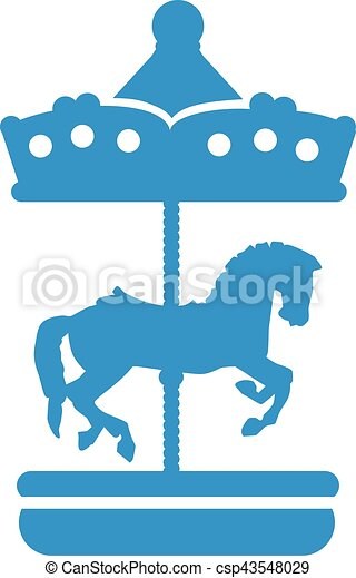 cute carousel with horse vector illustration search clipart rh canstockphoto com carousel clip art free downloads carousel clipart images