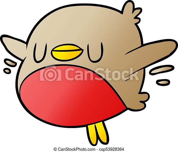 cute cartoon christmas robin clip art vector search drawings and rh canstockphoto com robin clipart black and white robin clip art images