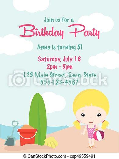 Free Printable Birthday Invitations for Girls   Categories…   Birthday  party invitations printable, Birthday party invitations free, Girl birthday  party invitations