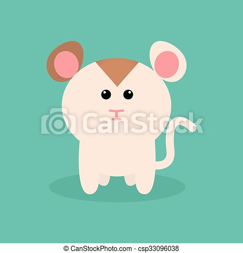 cute cartoon hamster abstract cute hamster on a special background