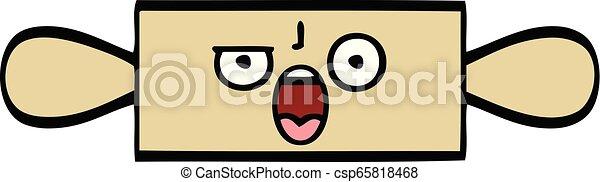 cute cartoon rolling pin - csp65818468