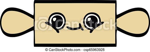 cute cartoon rolling pin - csp65963928