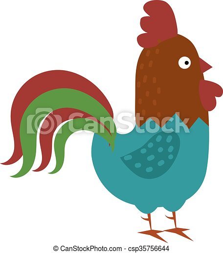 cute cartoon rooster vector illustration cartoon rooster eps rh canstockphoto com rooster vector free rooster vector logo