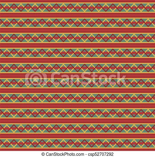 cute christmas or new year template with red green and yellow zig zag striped pattern vector illustration banner card for design
