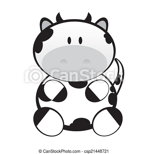 cute cow - csp21448721