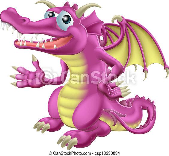 cute, dragão - csp13230834