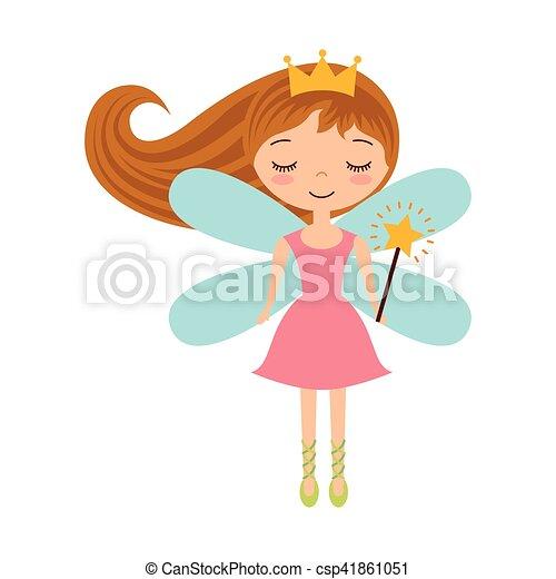 cute fairy godmother character vector illustration design clipart rh canstockphoto com fairy godmother clipart black and white disney fairy godmother clipart