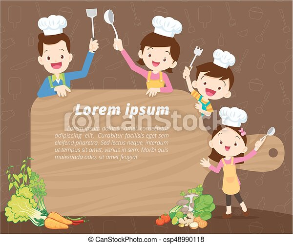 cute family cooking background cute family cooking meal