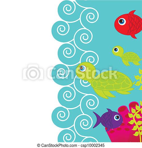cute fish - csp10002345