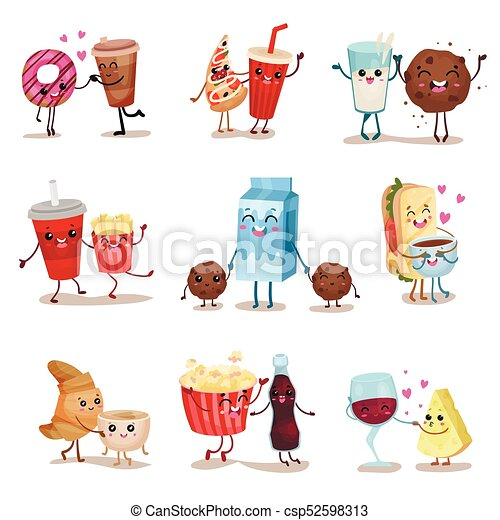 how to draw cute foods and drinks