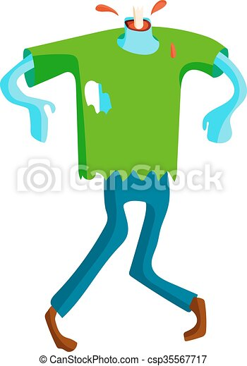 cute green cartoon zombie character set part of body vector clip rh canstockphoto com clipart zombie clipart zombie horse