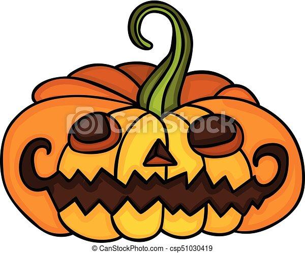 cute halloween pumpkin csp51030419