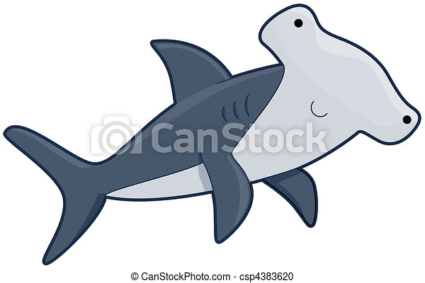 cute hammerhead shark stock illustration search clipart drawings rh canstockphoto com hammerhead shark clip art free hammerhead shark clipart free