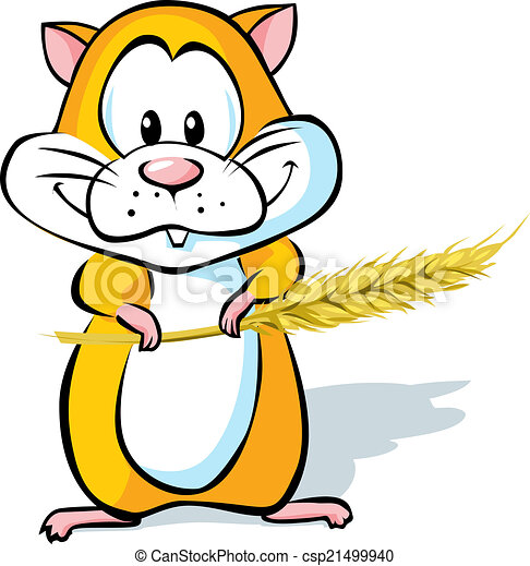 cute hamster - csp21499940